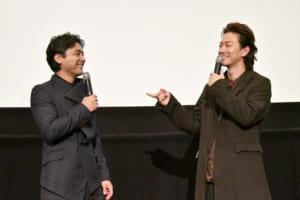 映画『ハード・コア』完成披露上映会