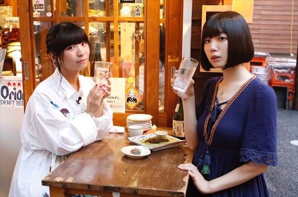 夢眠ねむ&古川未鈴が沖縄の食とお酒を満喫!『まどろみのれん酒』