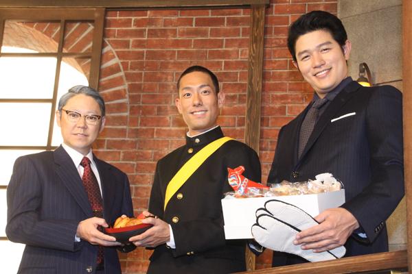 鈴木亮平が中村勘九郎&阿部サダヲにアドバイス「さつまあげを食べるといいかも」