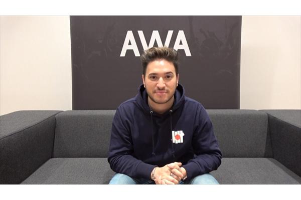 ジョナス・ブルー来日記念インタビュー動画 AWA公式YouTubeで公開