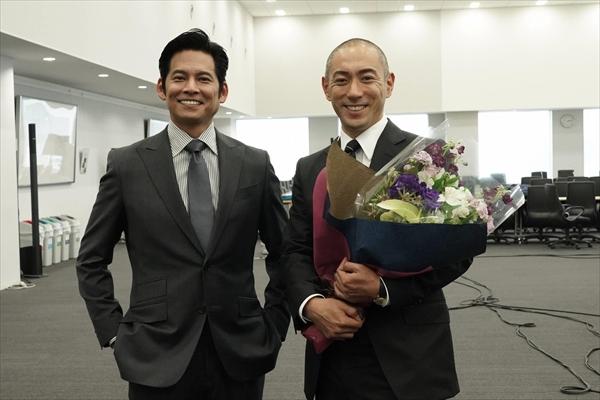 『SUITS/スーツ』市川海老蔵が撮了「大変勉強になりました」