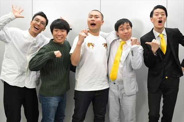KOCキング・ハナコとM-1王者・霜降り明星が初対決!『ドリーム東西ネタ合戦』1・1放送