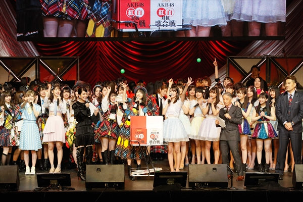 『AKB48紅白対抗歌合戦』BSスカパー!で1・14独占放送