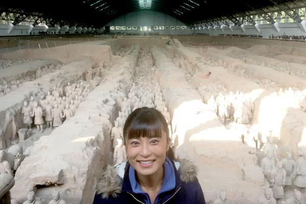 小島瑠璃子がミステリーハンターに初挑戦!秦の始皇帝のふしぎを紹介『世界ふしぎ発見!』1・12放送