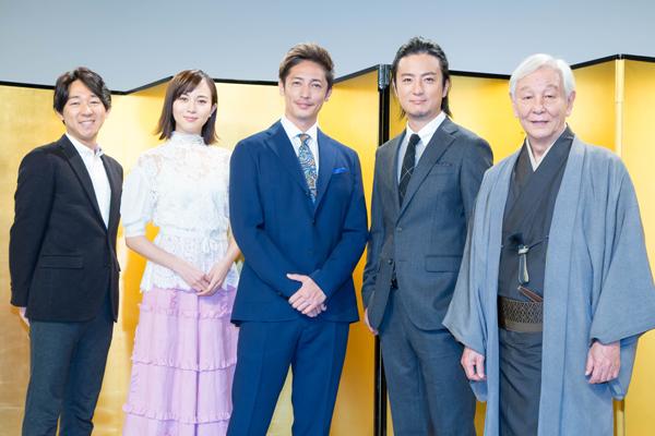 玉木宏、旧友・上地雄輔との初共演に「記憶に残る楽しい時間」