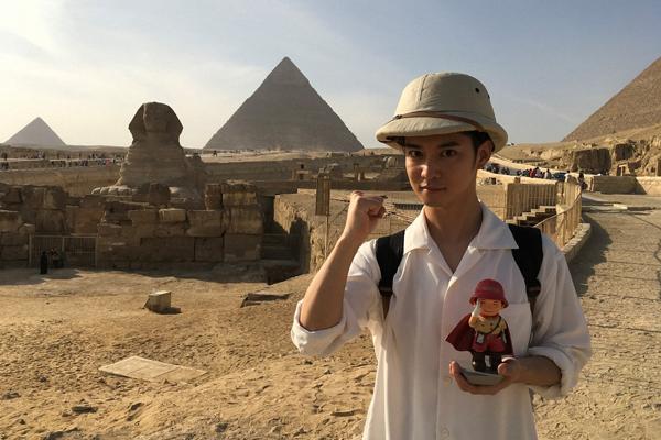 千葉雄大がミステリーハンターに初挑戦!古代エジプトに迫る『世界ふしぎ発見!』1・26放送
