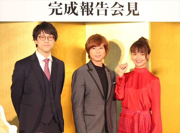 北山宏光、猫スーツ姿に「意外と俺イケるな」と自信あり!?映画「トラさん」完成報告会見