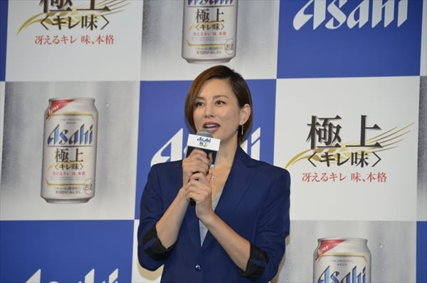 米倉涼子が活動休止発表の嵐にエール「しっかり頑張って!」