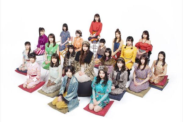 NMB48の20thシングル「床の間正座娘」ミュージックビデオ&ビジュアル公開