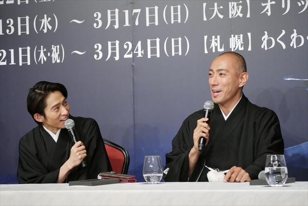 六本木歌舞伎「羅生門」製作発表会見