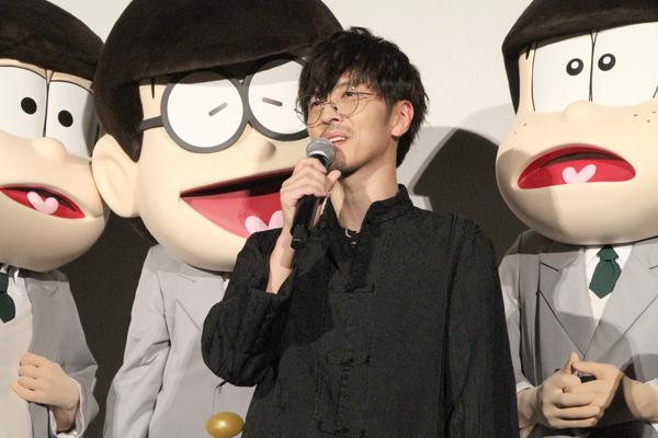 「えいがのおそ松さん」完成披露舞台あいさつ