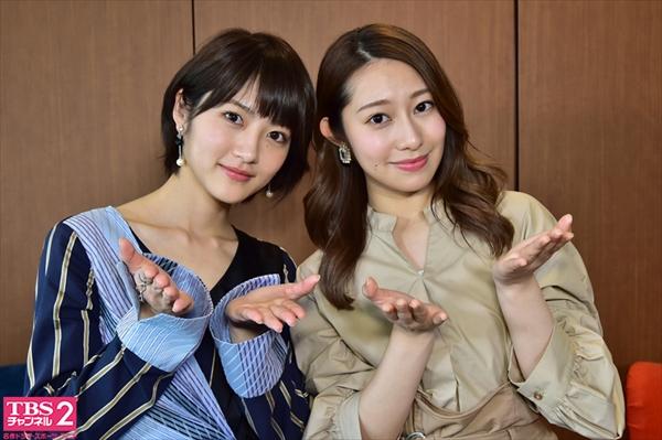 桜井玲香×若月佑美