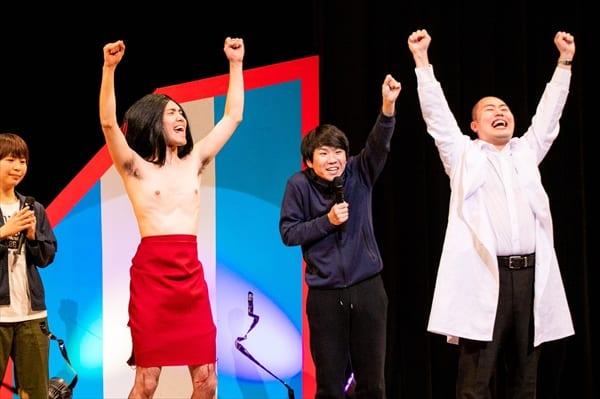 ハナコが『ワタナベお笑いNo.1決定戦』連覇!ハライチ、Aマッソとの決戦制す