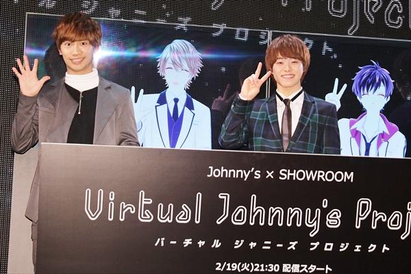 なにわ男子・藤原丈一郎&大橋和也がジャニーズ初のバーチャルアイドルに!