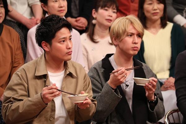 ジャニーズWEST・桐山照史&藤井流星が絶品健康鍋を堪能!『梅ズバ』2・20放送