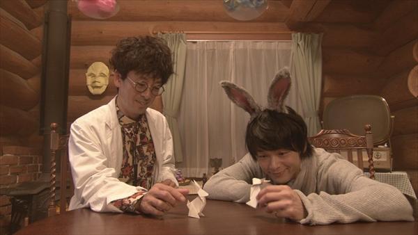 『オリガミの魔女と博士の四角い時間』