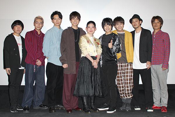 映画『ジャンクション29』公開記念舞台あいさつ