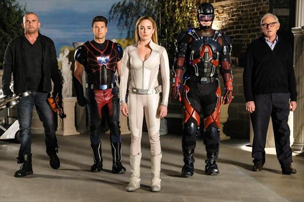 海外ドラマ「レジェンド・オブ・トゥモロー」シーズン3 Huluで3・21配信スタート