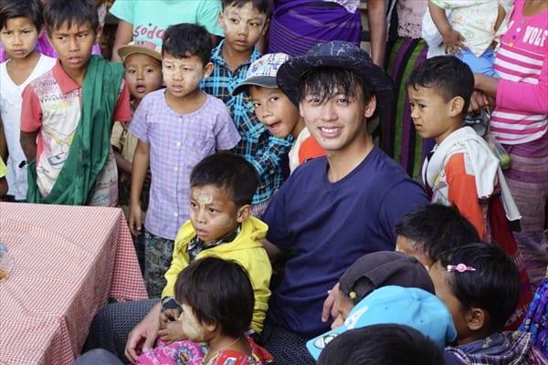 竹内涼真が10年ぶり復活の『世界ウルルン滞在記』でミャンマーへ!3・24放送