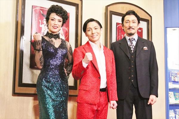 屋良朝幸「ダンスを見てほしい!」ミュージカル「Red Hot and COLE」開幕