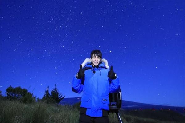 キンプリ・岸優太、初の単独海外ロケでハワイの星空に大興奮!『宇宙プロジェクト2019』3・13放送