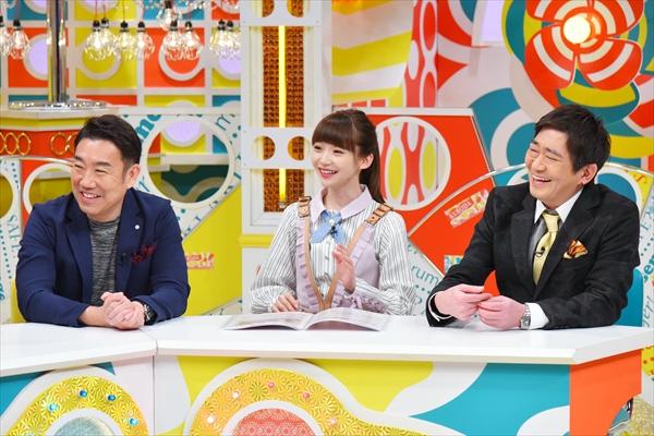 絶好調の荻野由佳ちゃん、今度は大阪のバラエティに出演