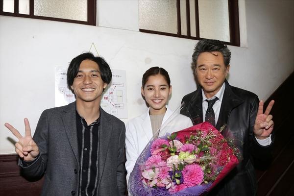 『トレース』新木優子が撮了!錦戸亮&船越英一郎に感謝「本当に助けていただいた」