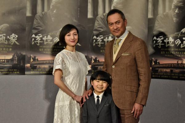 渡辺謙、カズオ・イシグロ作品映像化に「難しい企画をよくやった」『浮世の画家』