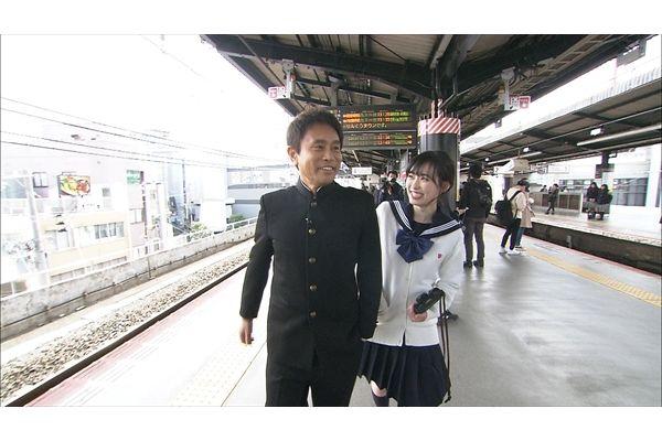 浜田雅功が福原遥と制服姿で超人気スポットへ!『ごぶごぶ』4・9放送