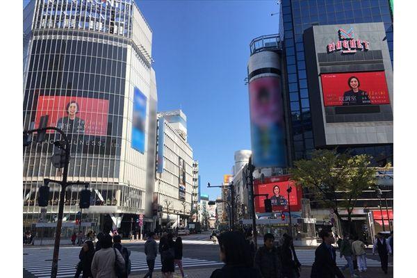 天海祐希に取り調べされる!?『緊急取調室』特別映像が渋谷駅前のビジョンで放映中