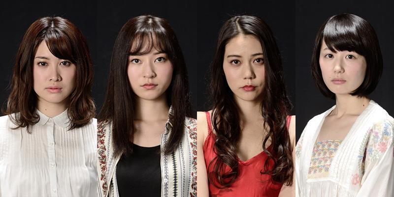 (左から)飛鳥凛、大島正華、松山愛里、中谷仁美