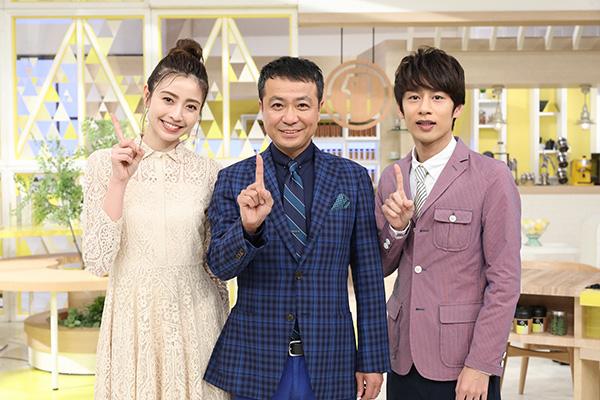 『シューイチ』放送400回!中山秀征&片瀬那奈&中丸雄一が語る番組の魅力とは?