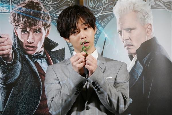 「ファンタスティック・ビーストと黒い魔法使いの誕生」一日魔法大臣就任式イベント