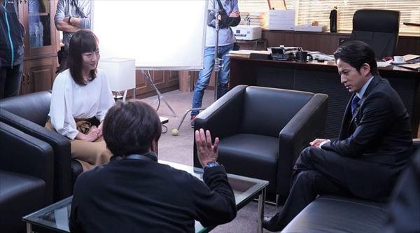 テレ朝・島本アナが『白い巨塔』で岡田准一と共演「緊張感がありました」