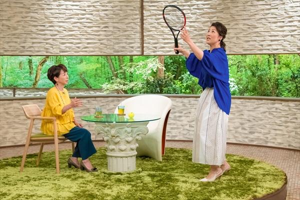 沢松奈生子がテニス観戦が楽しくなる術を伝授!『サワコの朝』5・18放送