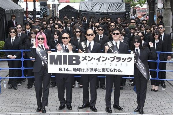 """""""MIBの日""""に吉本坂46が新宿で極秘任務!?"""