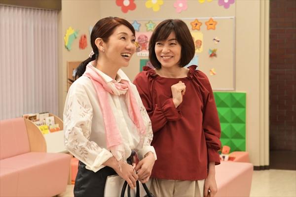 松居直美が八木亜希子の友人役で『集団左遷!!』第6話にゲスト出演