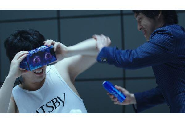怖がる草薙!楽しむ宮下!宮下草薙がコンビで「ギャツビー お化け屋敷5D」VR体験動画に出演