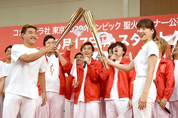 コカ・コーラ社東京オリンピック聖火ランナー公募キャンペーン記者発表会