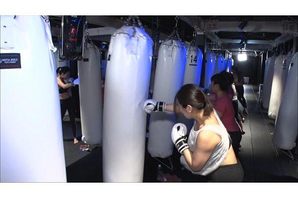 羽田空港の最新スポット「暗闇ボクシングジム」に潜入!『マツコ会議』6・15放送