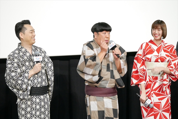 映画「ペット2」公開記念舞台あいさつ