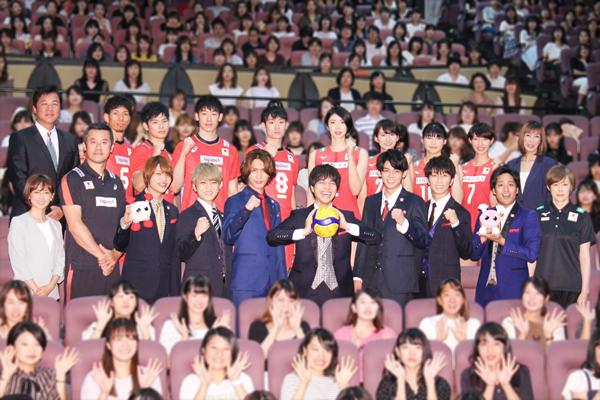 ジャニーズWESTがバレー日本代表にエール!「必ずトップを取ってほしい」