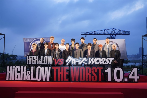 """川村壱馬「HIROさんに""""絶対関わりたい""""と言い続けた」映画『HiGH&LOW THE WORST』レッドカーペット"""