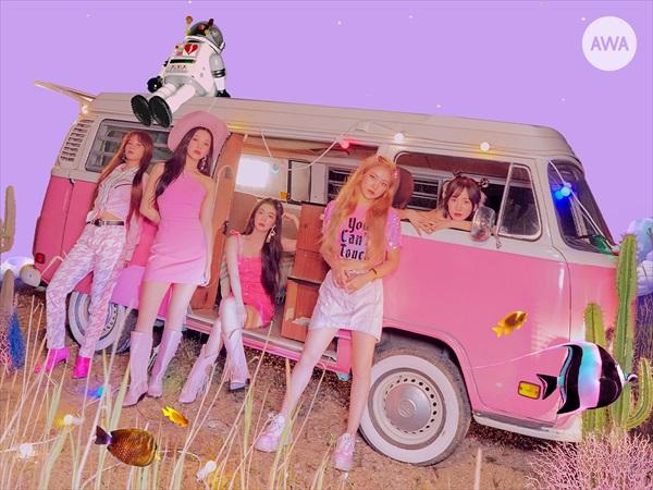"""Red Velvetが選ぶ「""""夏に聴きたい曲""""プレイリスト」AWAで公開"""