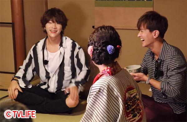 SUPERNOVAユナク&グァンスが日本の伝統文化を体験!『お江戸に恋して』8・24放送