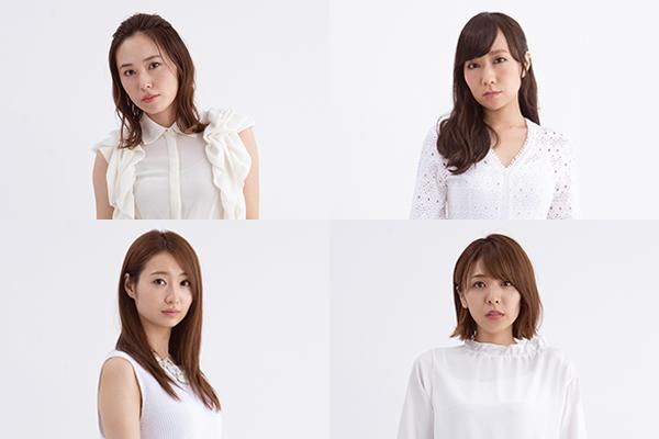 スフィアが5人の脚本家&演出家とコラボ!ドラマ『劇団スフィア』TOKYO MXで10・16スタート