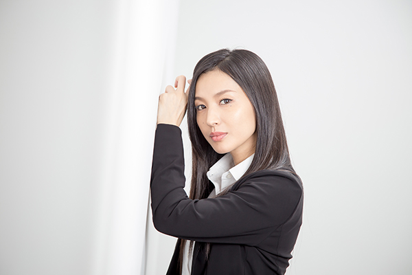 <p>芦名星インタビュー</p>