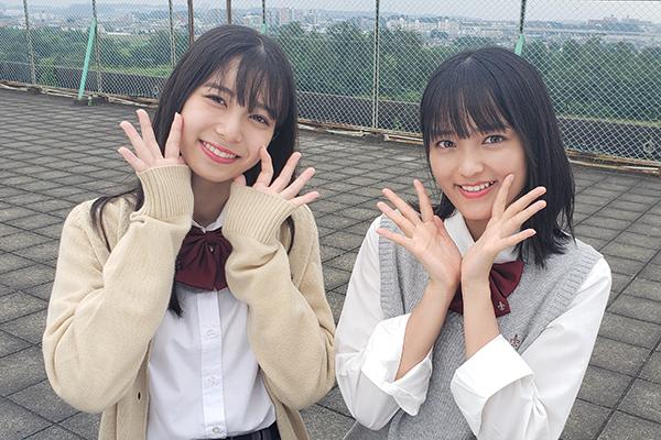こぶしファクトリー・野村みな美&井上玲音が『スカパー!朝のTwitterドラマ』でW主演