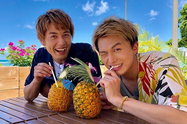 ボイメン小林豊&勇翔がリアルなハワイを堪能!BS12『ハワイに恋して!』に出演