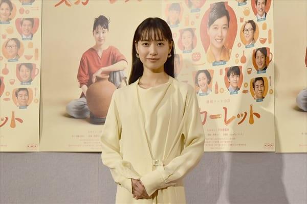 戸田恵梨香、15歳を全力で演じ「息切れしました」朝ドラ『スカーレット』9・30スタート